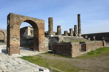 Pompei, scavi