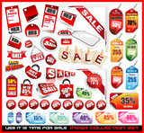 Sale Tags Mega Collection Set poster
