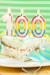 100 birthday or anniversary cake