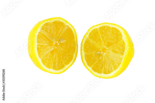 Lemon in Halves