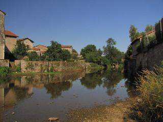 Ville de  La Rochefoucauld ; Charente, Limousin, Périgord