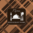 vector. restaurant menu background
