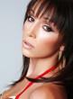 Atractive brunette, portrait 3