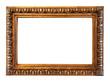 Luxury gilded frame