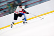 Hockey Player On a Fast Break
