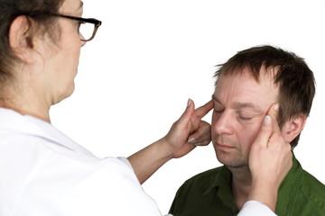 Augenmassage