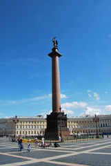 Palace Square in St.-Petersburg