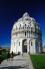 The Baptistry of Pisa