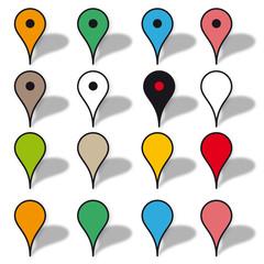 Icône de localisation