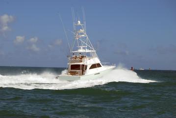 Charter Sportfishing Boat