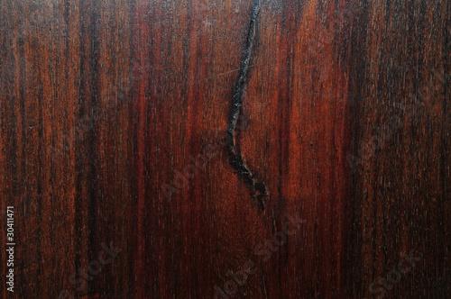 Staande foto Leder Hintergrund altes Holz dunkelbraun