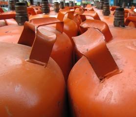 Botellas de butano