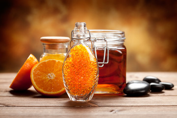 Orange and honey - Natural Spa treatment