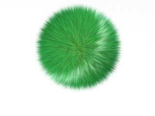 pallina d'erba