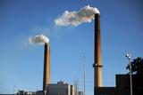 Industrial Smokestacks poster