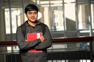 Young Indian Student