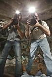 Paparazzi Photographers Shooting a Murder Victim poster