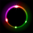 Glow of Lights with rainbow colurs for alternative background