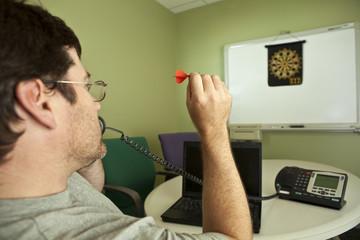 Casual Friday Informal Work Environment (Focus on dart)
