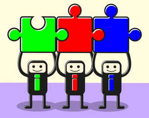 join teamwork puzzle