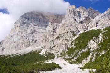Dolomite - cloud on the Mt. Pelmo