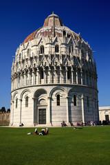 Pisa, il Battistero in Piazza Duomo