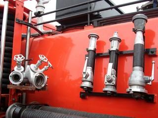 alte Feuerwehr-Ausrüstung (IFA G5)
