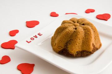 Marmorkuchen aus Liebe
