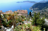 Eze, renowned tourist site on the French Riviera - Fine Art prints
