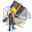 Online construction follow-up