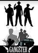 Постер, плакат: gangsters