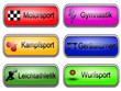Sportbuttons-Sportarten