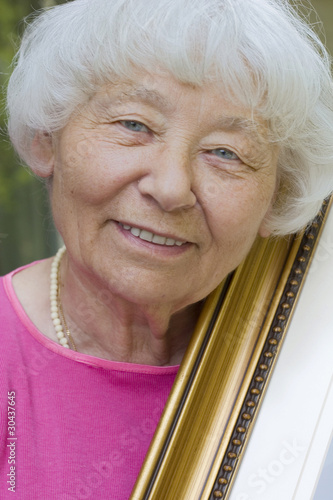 Senior woman Art lady