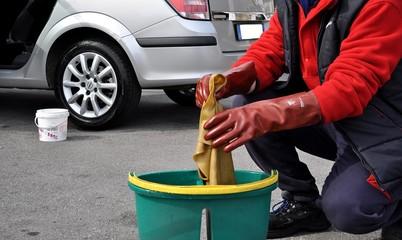 Panno per lavaggio auto