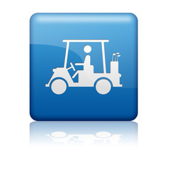 Boton azul Golf cart