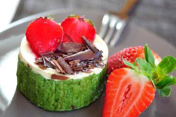 Erdbeeren, Nachtisch