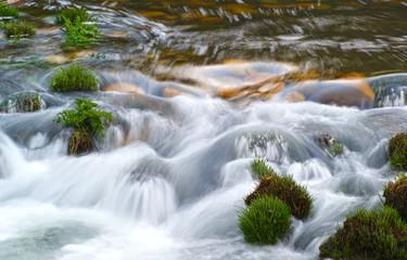 movimento de água