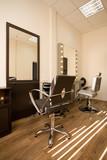Fototapety Modern salon make-up artist and hairdresser.
