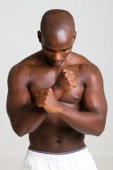 strong african man