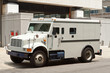 Armoured Armored Car Parked on Street Building - 30449892
