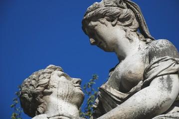 statua nel parco di Schönbrunn