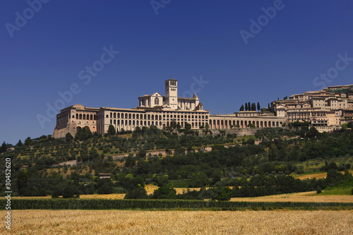 Assisi, city landscape