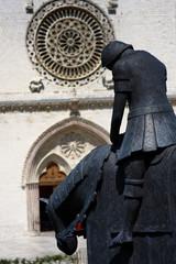 Assisi, il ritorno di San Francesco e facciata della Basilica