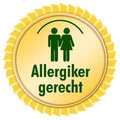 allergikergerecht button icon allergie