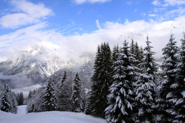 Winterlandschaft am Arlberg