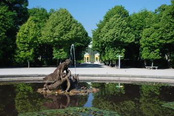 Fontana nel parco di Schönbrunn