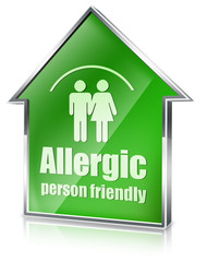 allergic person friendly 3d house