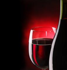 Still life with wine.