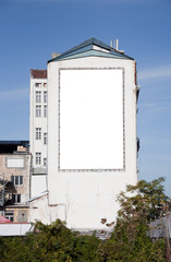 Blank Panel on a Building