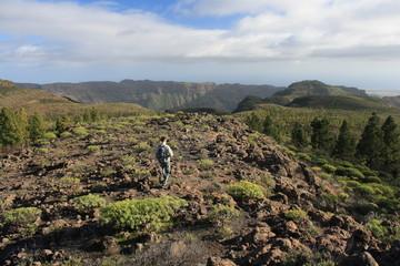 volcanic landscape on Gran Canaria